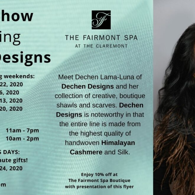2020 Holiday Trunk Show Invite